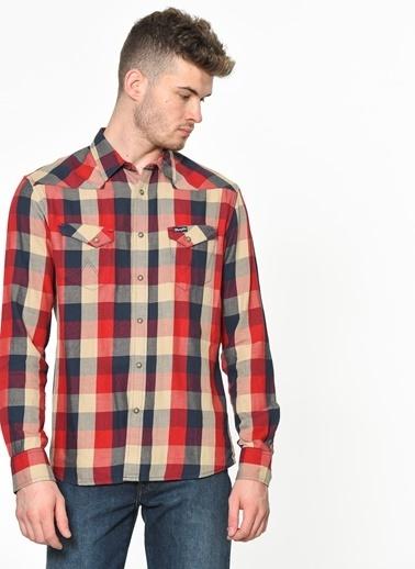 Wrangler Kareli Gömlek Kırmızı
